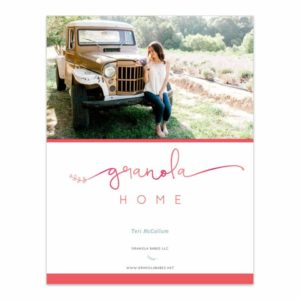Granola Home mini ebook
